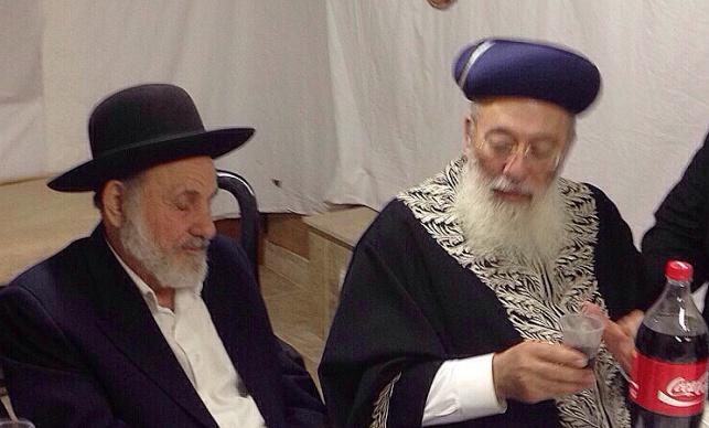 הרב עמאר בצוותא עם הרב בוארון