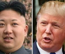 """דונלד טראמפ וקים ג'ונג און - טראמפ צייץ: """"אני לא קראתי לו שמן ונמוך"""""""