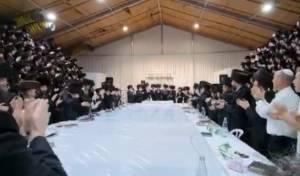 'נאר אמונה': 'טיש נעילת החג' בסאדיגורה