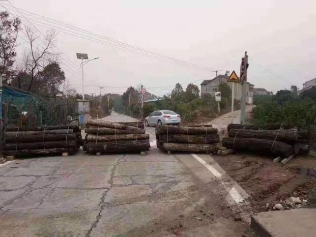 כבישים בסין נחסמים
