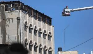 """שריפה גדולה ב""""מוסדות רמ""""א"""" בירושלים"""