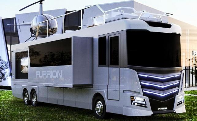 האוטו-בית שעולה 2.5 מיליון דולר ושווה כל אגורה