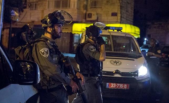 """כוחות מג""""ב באזור ירושלים"""