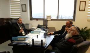 פגישת הרבנים, הבוקר