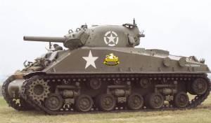 טנק ה'שרמן M4'. אילוסטרציה