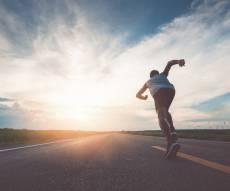 בוקר טוב: המדע אומר שהריון מאמץ כמו ריצת מרתון