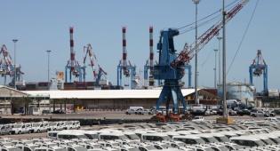 רכבים חדשים בנמל אשדוד