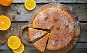 עוגת תפוזים בחושה קלאסית