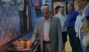 חזרו בהתרגשות לבית הכנסת העתיק של ג'רבה