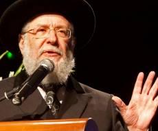 רבי ישראל מאיר לאו - פרסום ראשון: הרב לאו יפרוש מחר מתפקידו