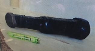 מטען צינור בבית המשפט, ארכיון - שוב: נתפס מחבל ערבי עם מטען צינור