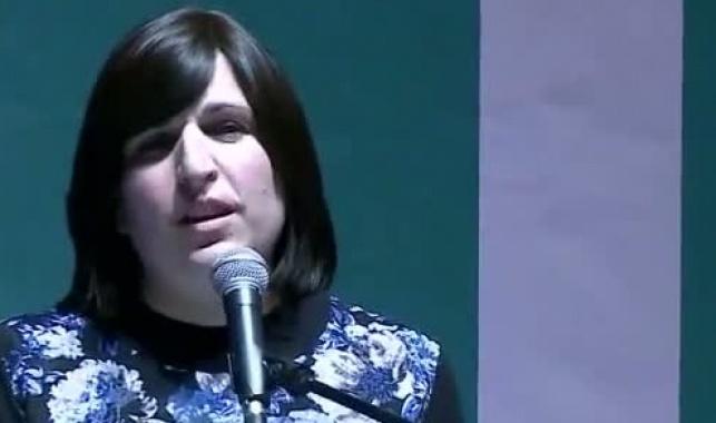 גב' מנוחה לוי, בנאומה בכינוס