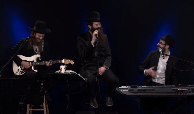 בן שמעון לייב: להקת 'זושא' בקומזיץ לייב