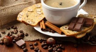 כוס קפה, שוקולד ו... תודה
