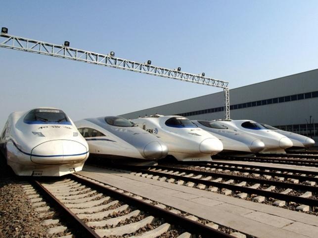 קרונות רכבת מהירה של CRRC