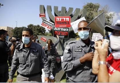 הפגנה מול הכנסת, היום
