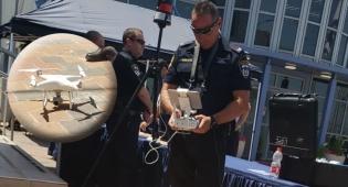 המשטרה תאכוף עבירות תנועה עם רחפנים
