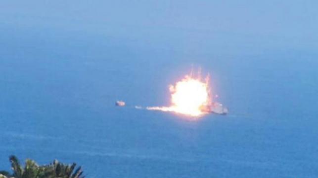 דאעש משתכלל: טיל מונחה לעבר ספינת קרב מצרית