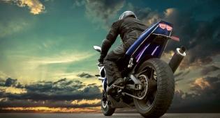 רוכבי אופנוע? בטיחות בנסיעה. אילוסטרציה