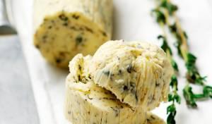 חמאה עם עשבי תיבול נפלאה