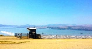 חוף נפרד נוסף יוקם עבור בין הזמנים בכנרת