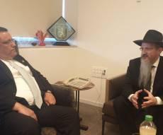 רבה של רוסיה נועד עם ראש עיריית ירושלים
