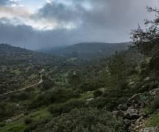 הרי ירושלים השבוע - התחזית: גשם ברוב הארץ, התקררות בשבת