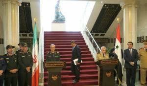 שני הרמטכלים במסיבת העיתונאים - איראן: לא מתקבל שישראל תתקוף בסוריה