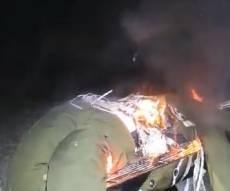 המשטרה חוקרת את סרטון 'החייל על האש'