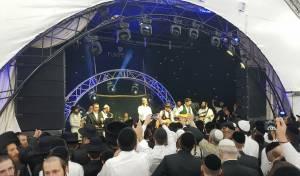 בערי וובר וחיים ישראל הקפיצו את החוגגים באומן