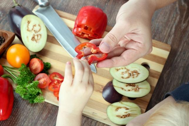 הזדמנות לשפר את בריאות הילדים בארוחת הערב, אילוסטרציה