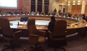 אולם מועצת העיר ירושלים - המפה המלאה: הנציגים החרדים והישיבות
