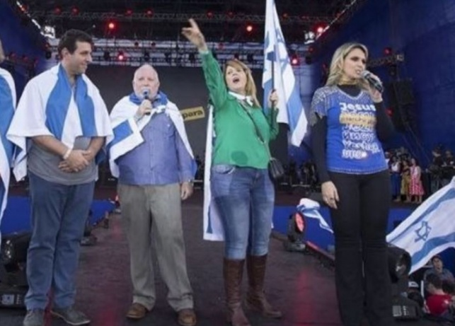 ברזיל:  הנוצרים  בעד העברת השגרירות לי-ם