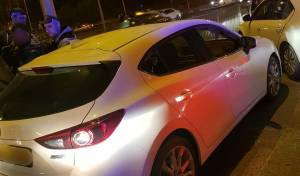 גנב הרכב נלכד בכניסה לירושלים ונעצר