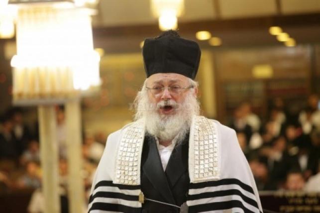 חיים אדלר בבית הכנסת הגדול