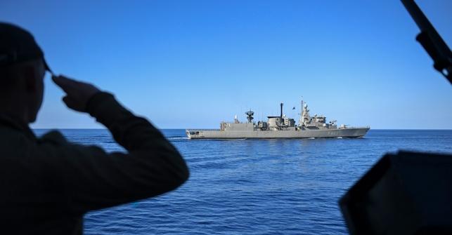 """צה""""ל סיכל איום נגד כלי השיט של חיל הים"""