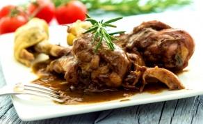 תבשיל עוף ושומר ארומטי - תבשיל עוף ושומר ארומטי לשבת של מורן פינטו
