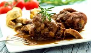 תבשיל עוף ושומר ארומטי
