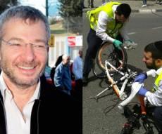 זירת התאונה - מוטי מורל נהרג בתאונה: 'התלונן על איומים'