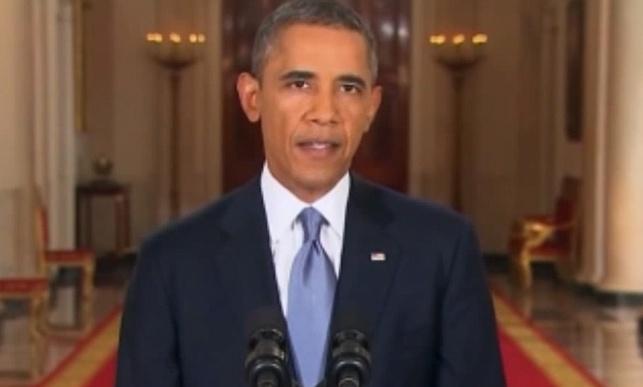ברק אובמה בנאומו לאומה