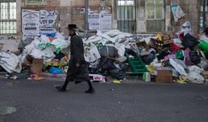 אשפה בירושלים. אילוסטרציה