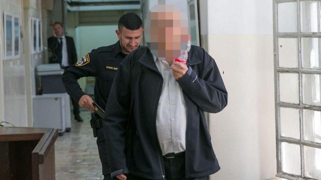 החשוד בבית המשפט