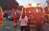 אוטובוס פגע בפלסטינים; הנהג נמלט ונעצר