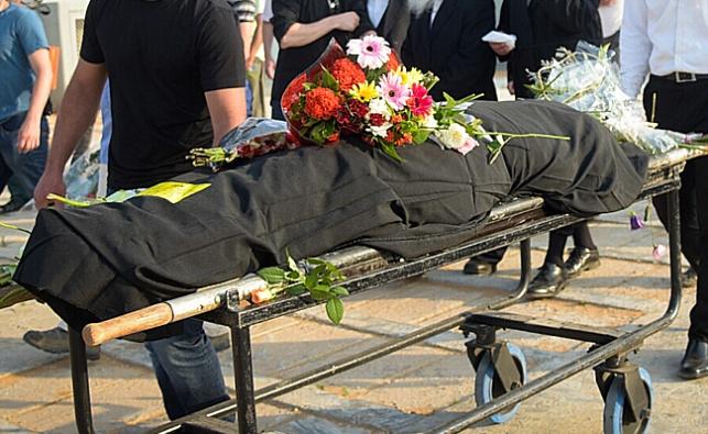 אסתי וינשטיין מובאת לקבורה, אמש