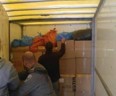 """לוחמי מג""""ב במשאית - כך נתפסו 2,447 פקטים של סגריות מוברחים"""