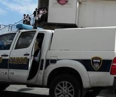 משטרה במודיעין עילית. ארכיון - הקיצוניים במחאה נגד מרכז שיטור קהילתי