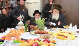 """טיש ט""""ו בשבט בשאץ ויז'ניץ ובנדבורנה - חיפה"""