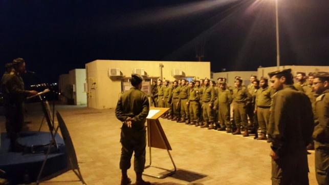 חיילי נצח יהודה זוכרים את הנופלים