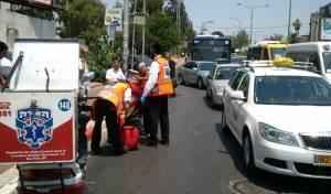 """אילוסטרציה - ארבעה ילדים נפצעו בתאונת דרכים בב""""ב"""