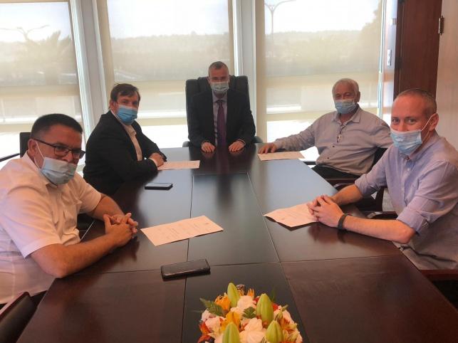 """השרים בהגשת ההתפטרות ליו""""ר הכנסת"""